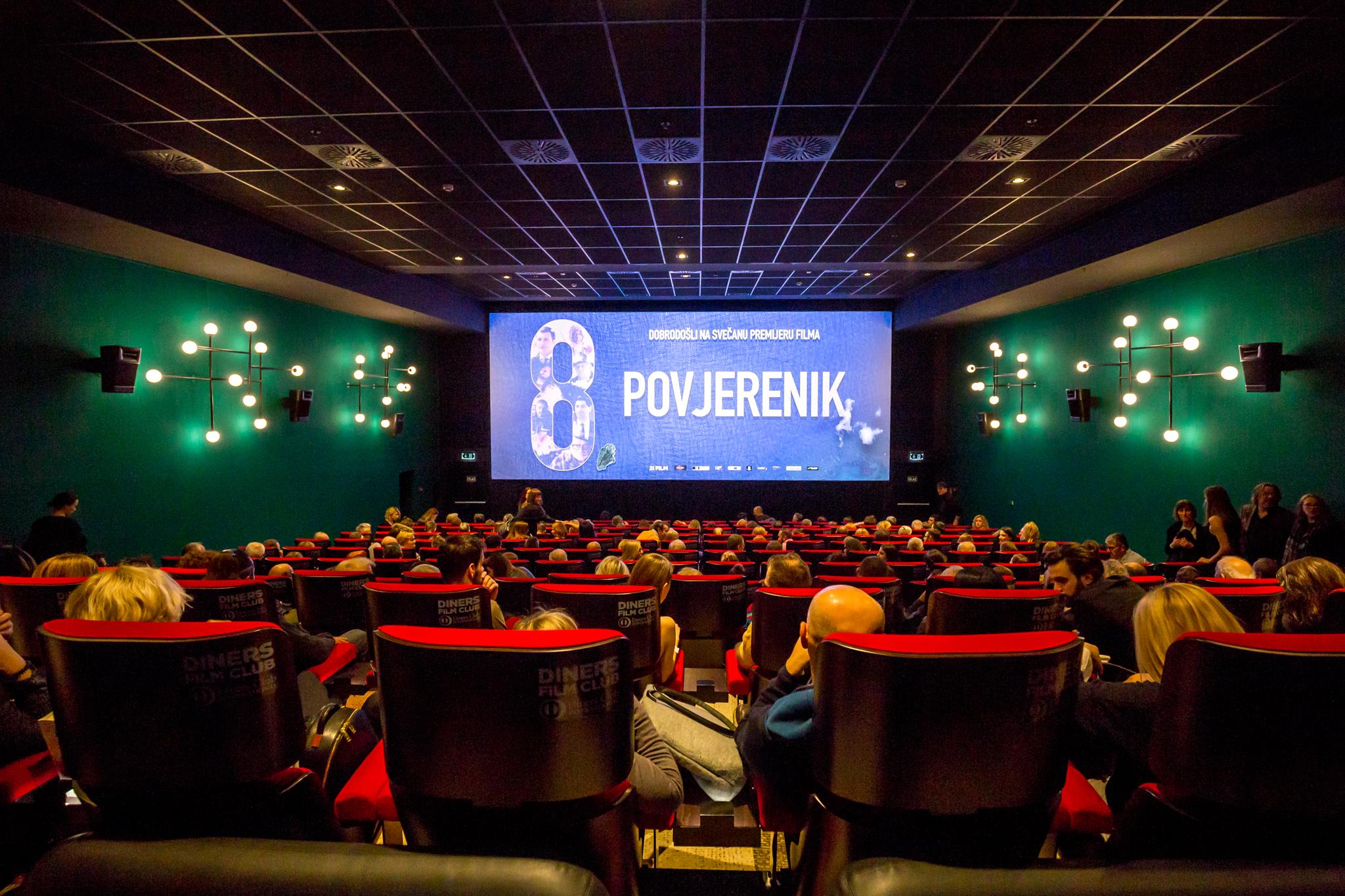 Film Osmi povjerenik oduševio zagrebačku publiku