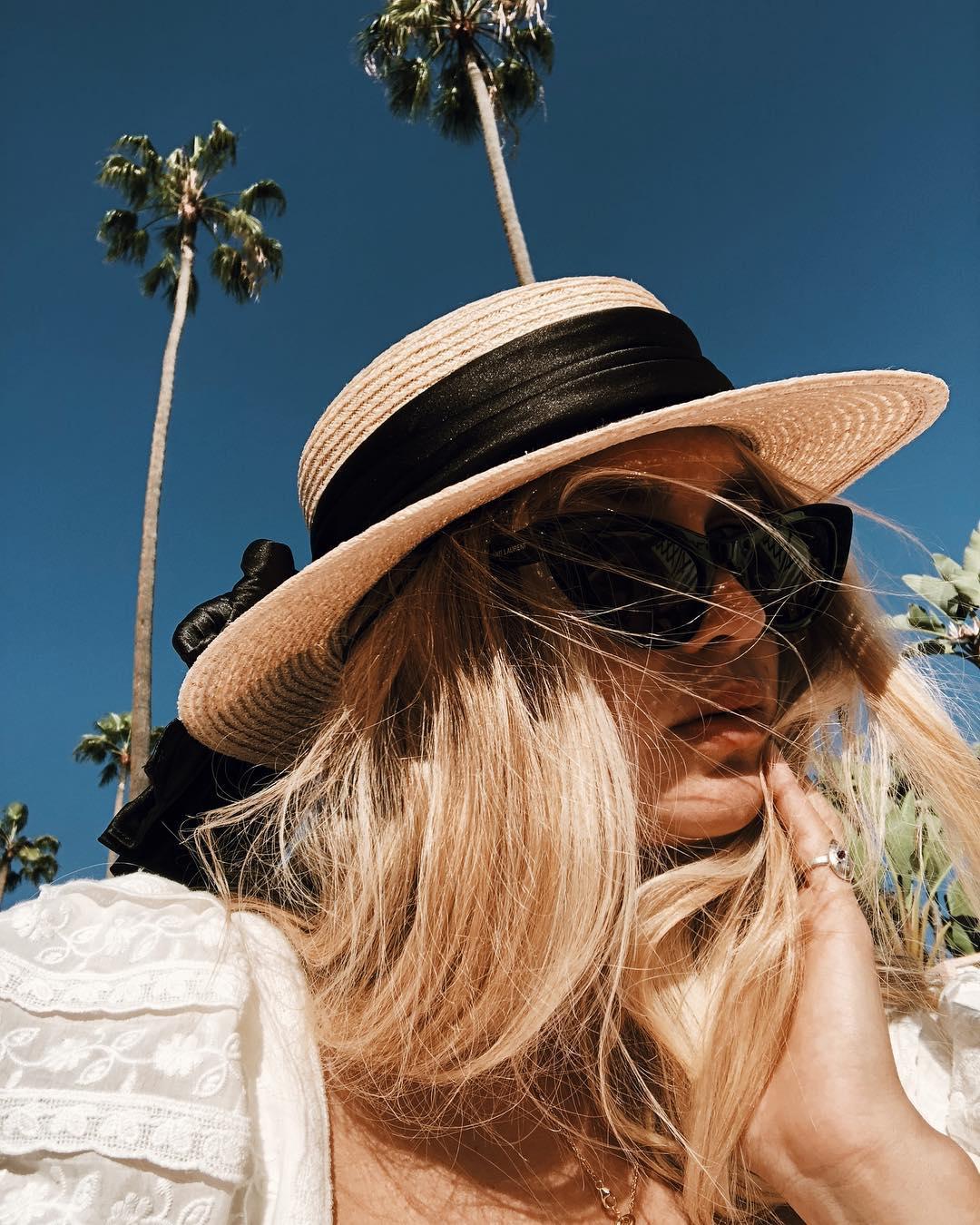 Chic slamnati šeširi za tople proljetne i ljetne dane