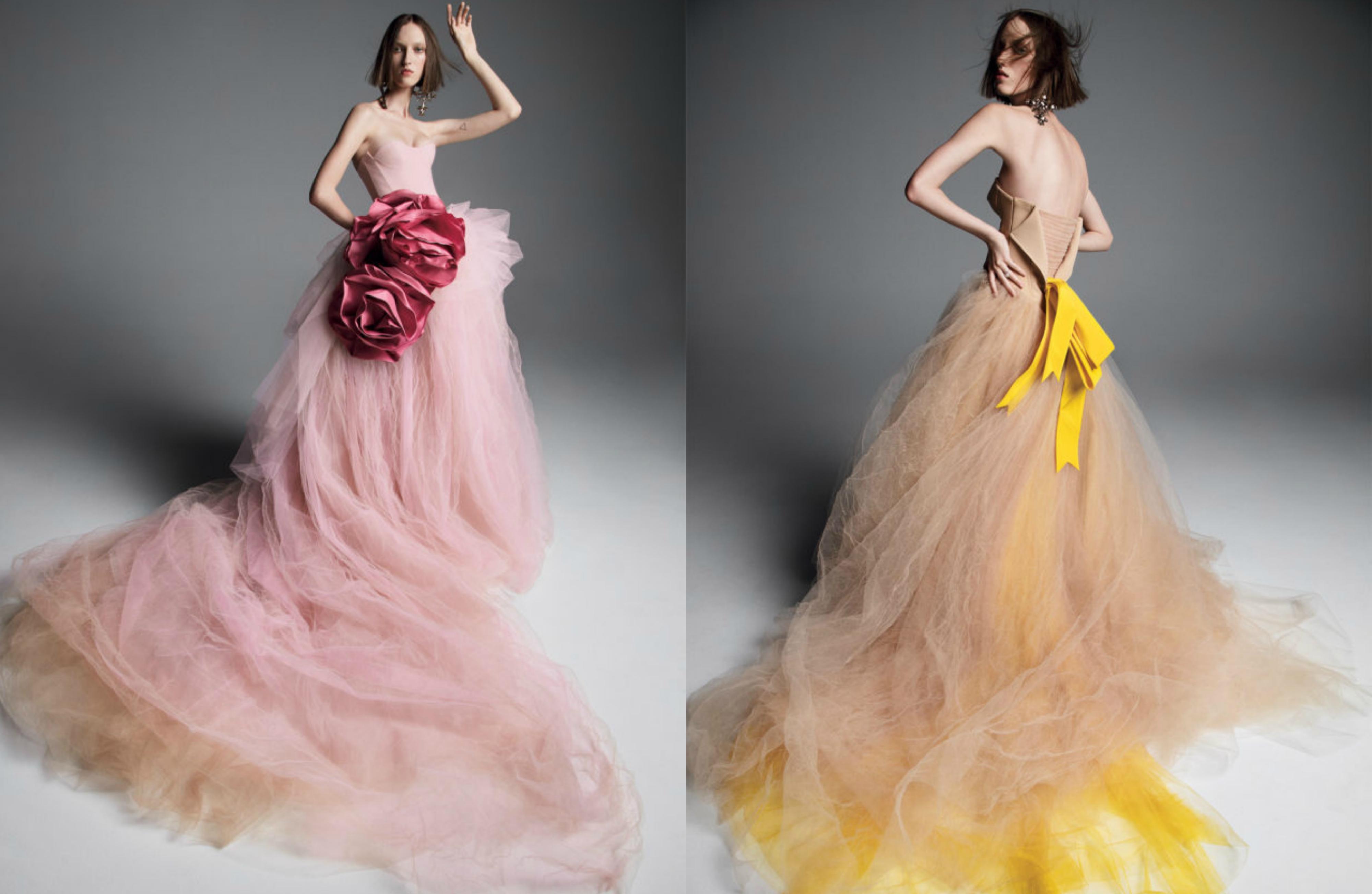 Vera Wang predstavila čarobnu kolekciju vjenčanica u boji