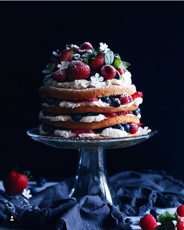 Fantastična voćna torta s kremom od vanilije
