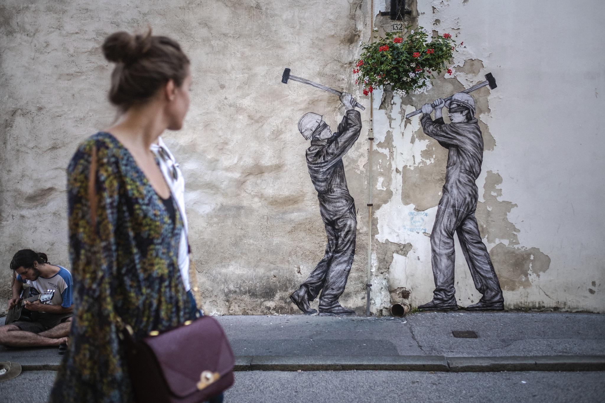 Zagreb je dobio fantastične street art intervencije!