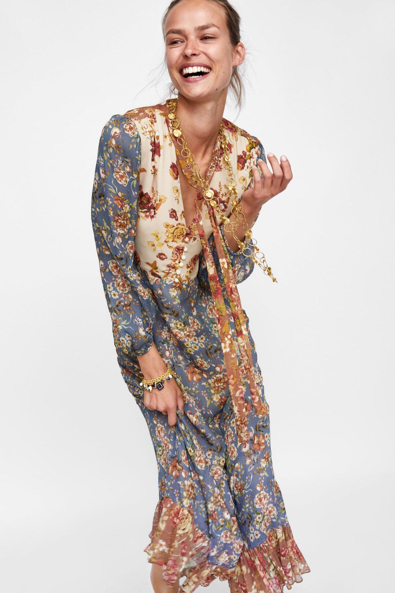 Fantastični cvjetni uzorci na haljinama iz novih kolekcija high street brendova