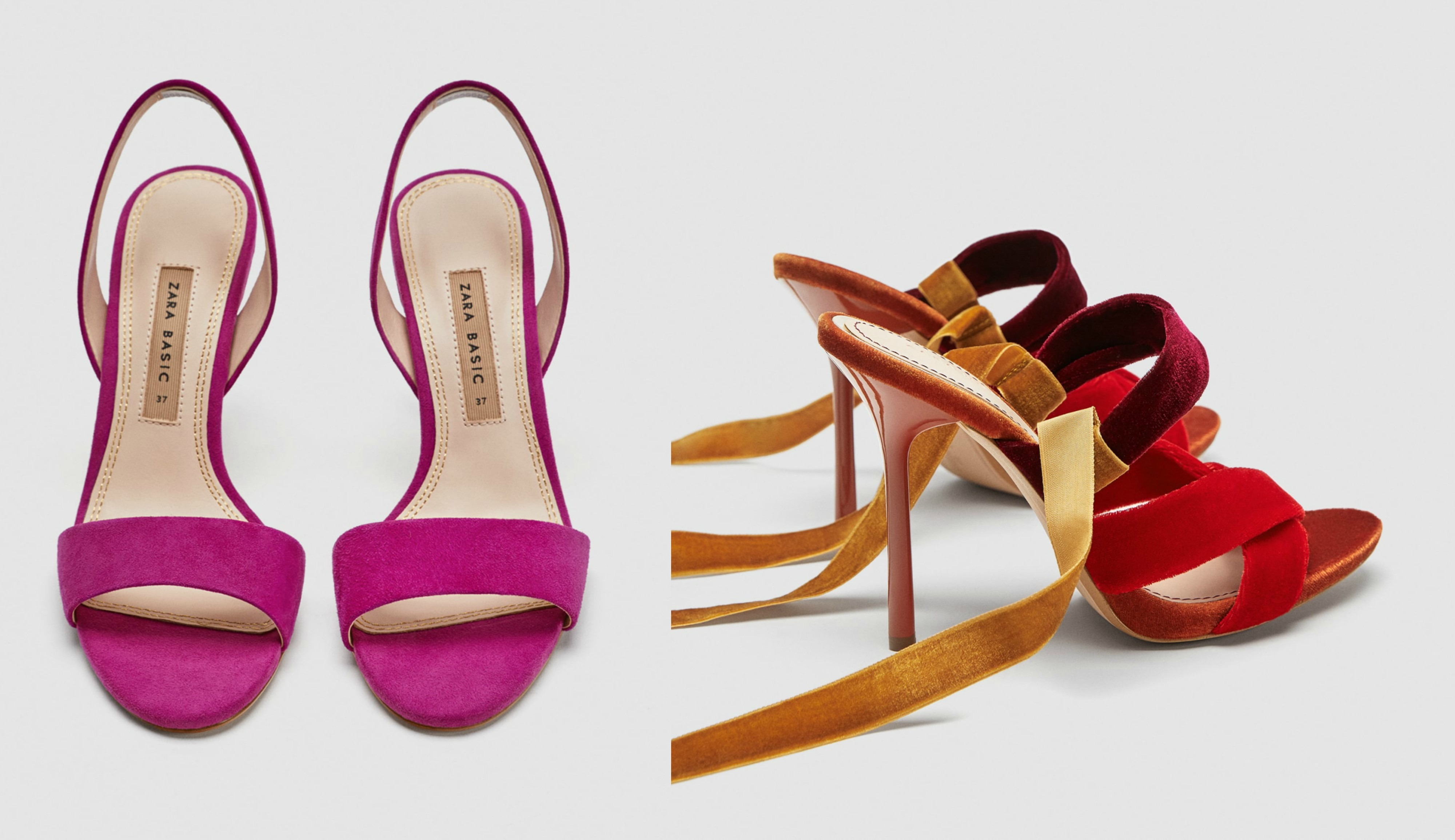 Najljepše sandale na petu iz Zare