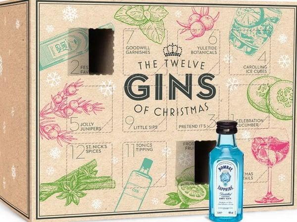 Adventski kalendar koji krije gin puno je bolja opcija od slatkiša!