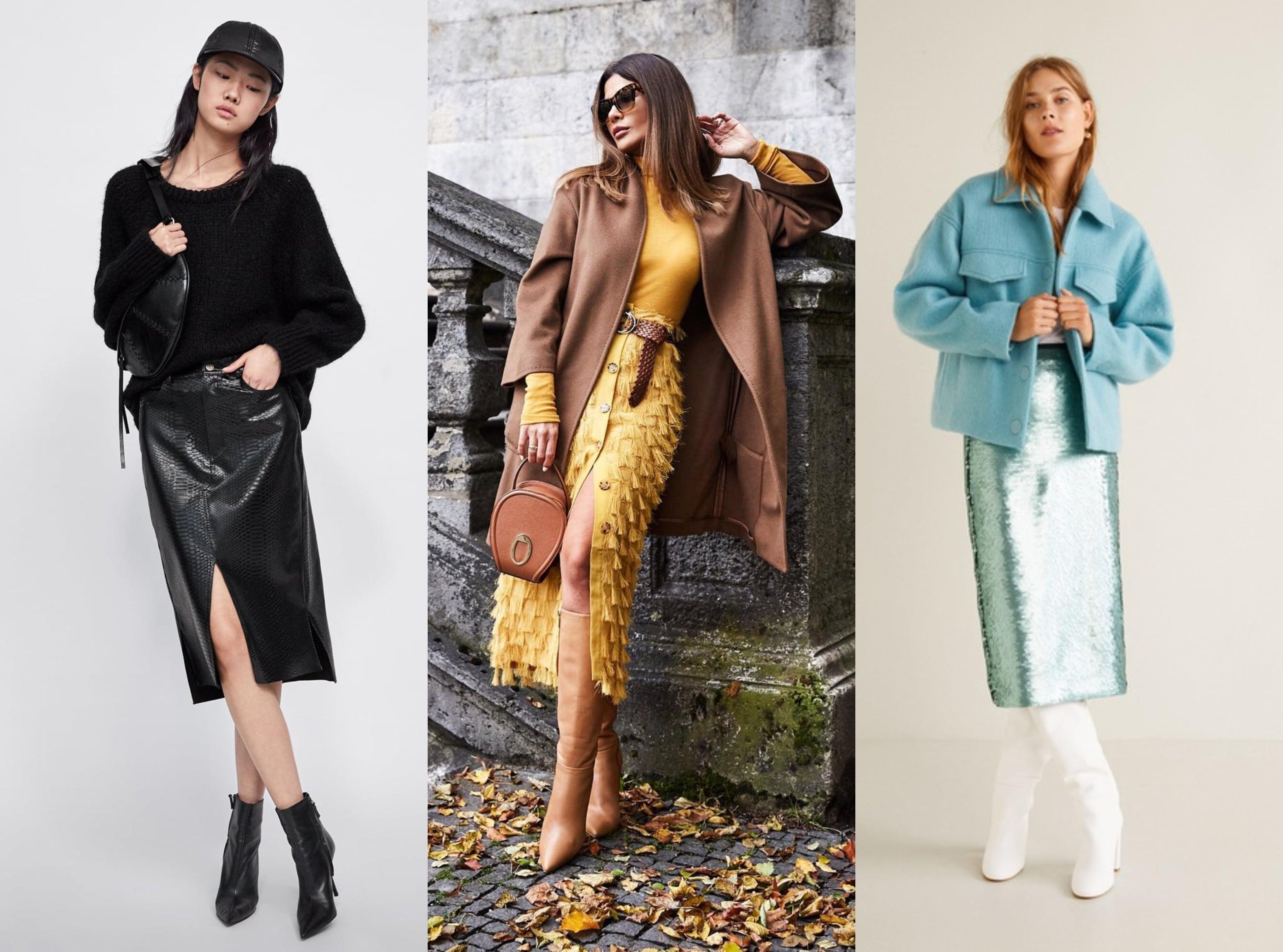 Midi suknje iz jesenskih kolekcija izgledaju savršeno