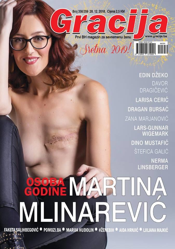Martina Mlinarević zaslužna je za naslovnicu godine i poruku zbog koje ćete se preispitati