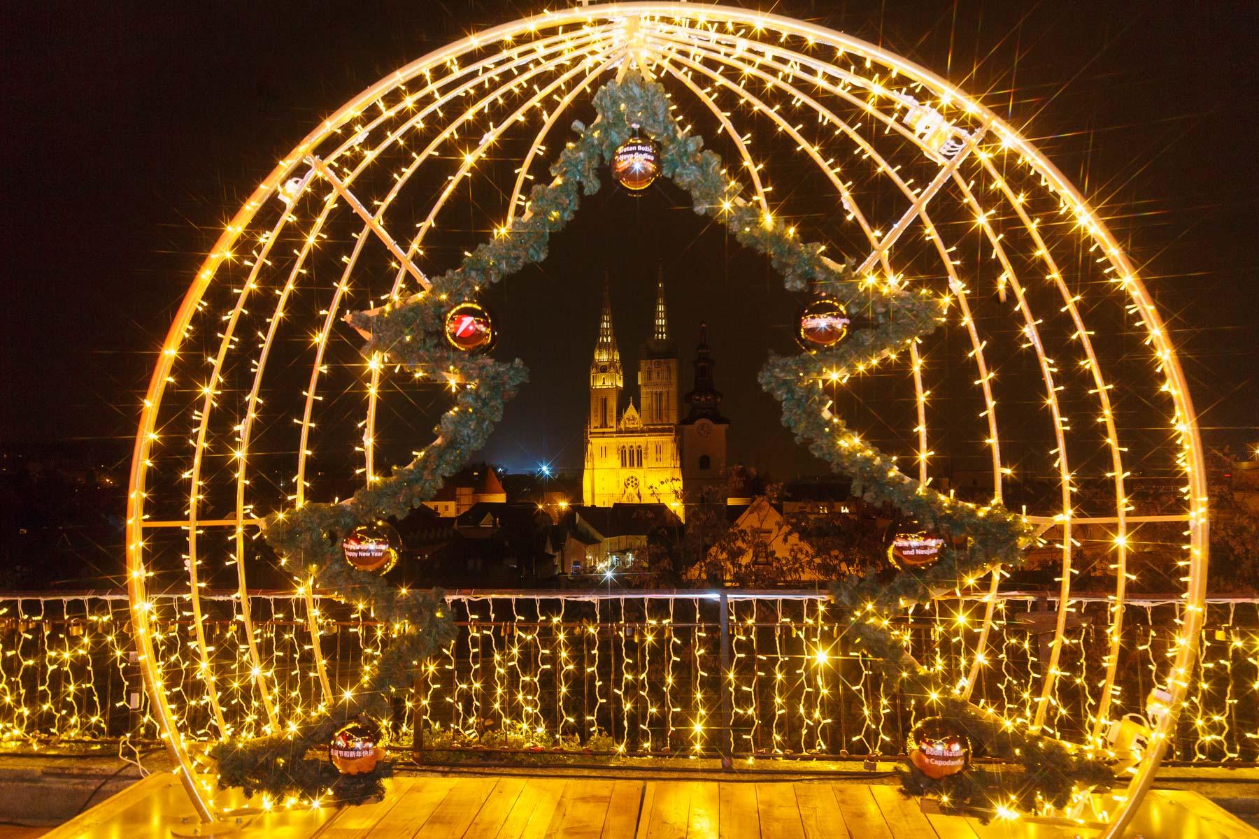 Advent u Klovićevim ima nekoliko posebnih mjesta za najljepše adventske fotografije