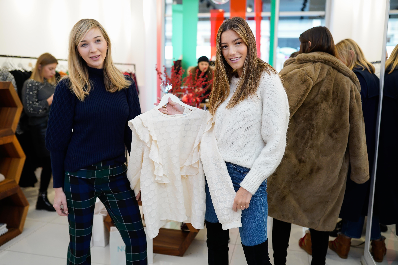 U društvu dama s domaće javne scene predstavljena limitirana blagdanska kolekcija brenda Lulu Couture