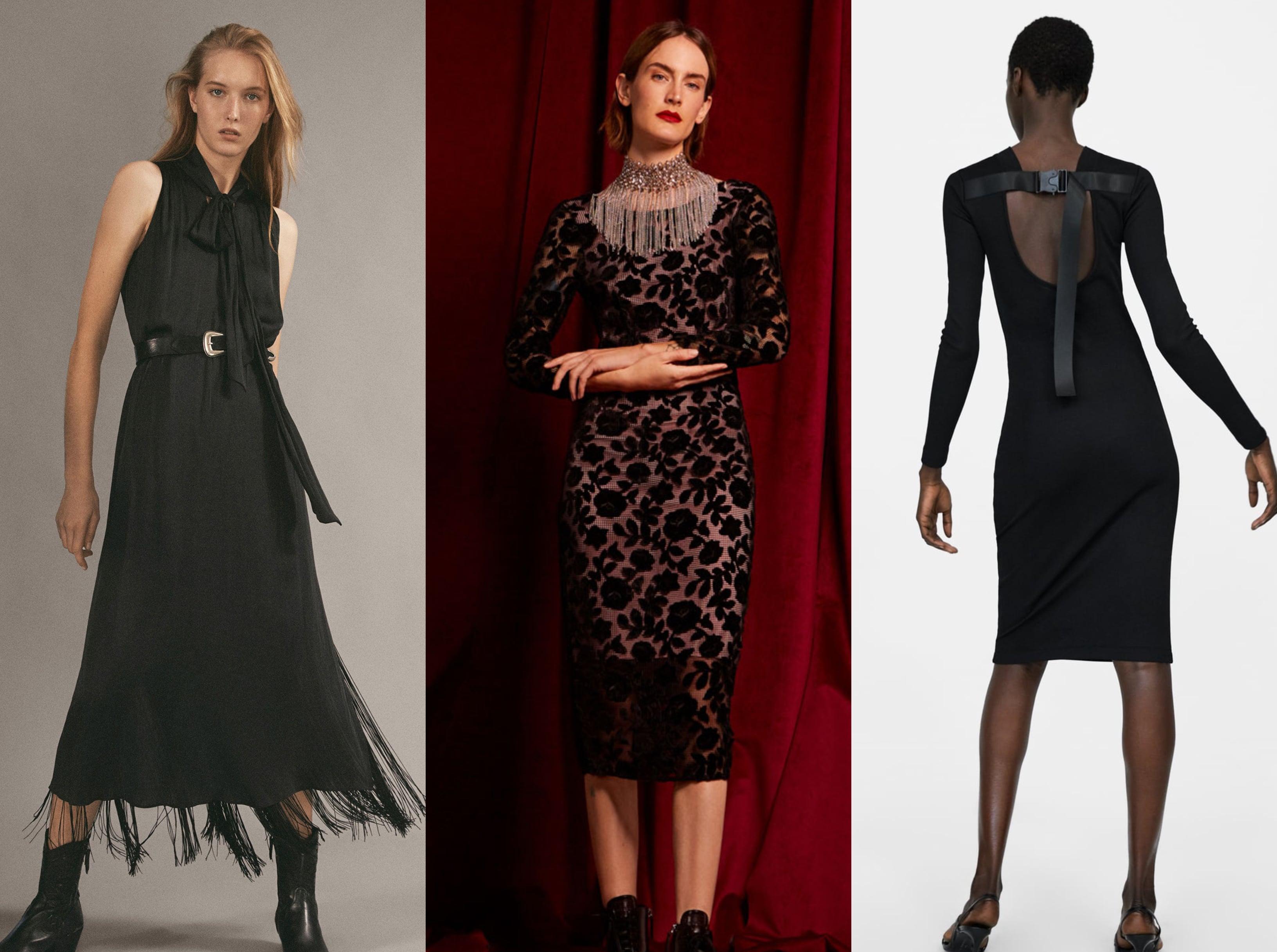 Najpoželjnije crne haljine s aktualnih sniženja