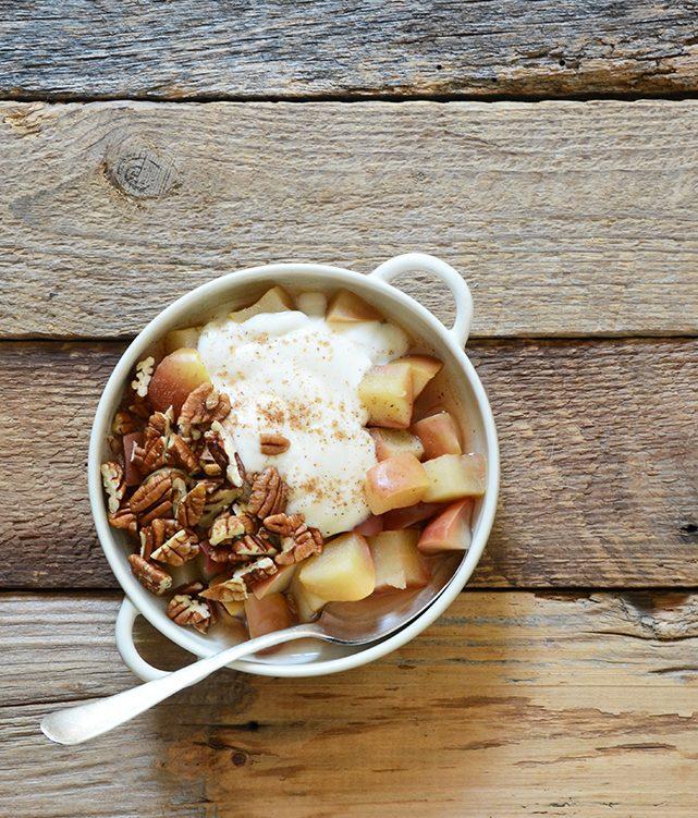 Topli (i zdravi!) doručak koji podsjeća na pitu s jabukama