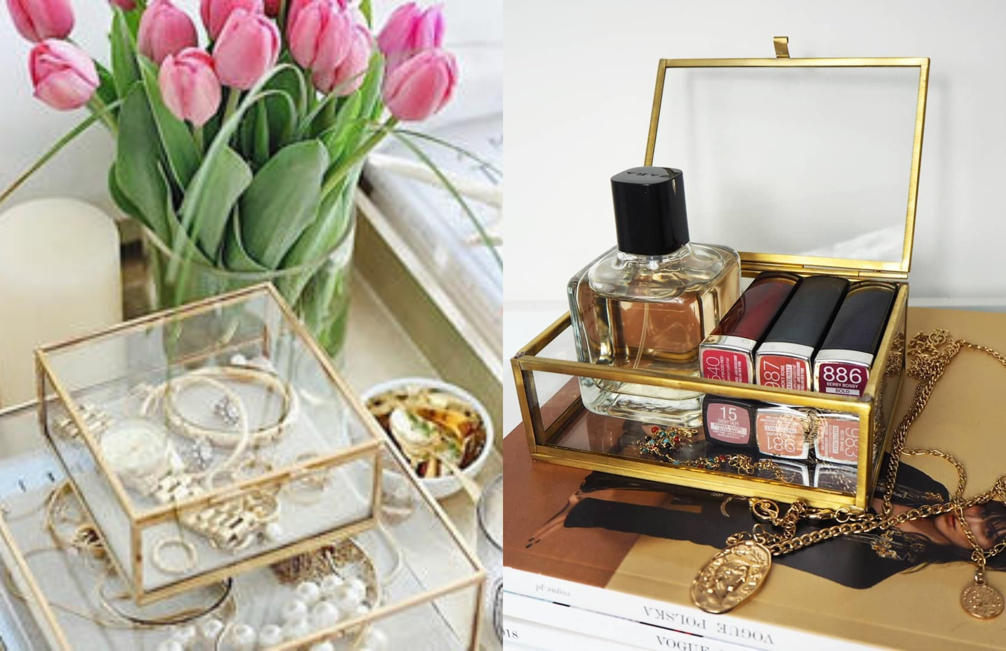 Prekrasne kutije za nakit kao funkcionalna dekoracija u domu