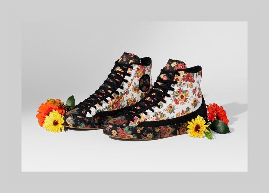 Nove Converse tenisice glavni su vjesnik proljeća u cvjetnom dizajnu