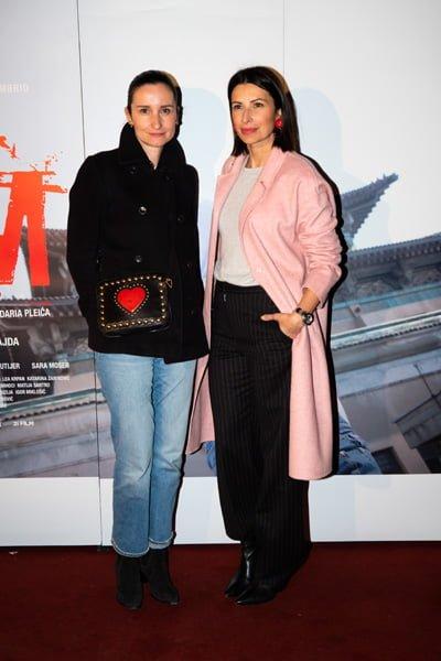 Ivana Karapandja i Iris Androšević Pinjuh