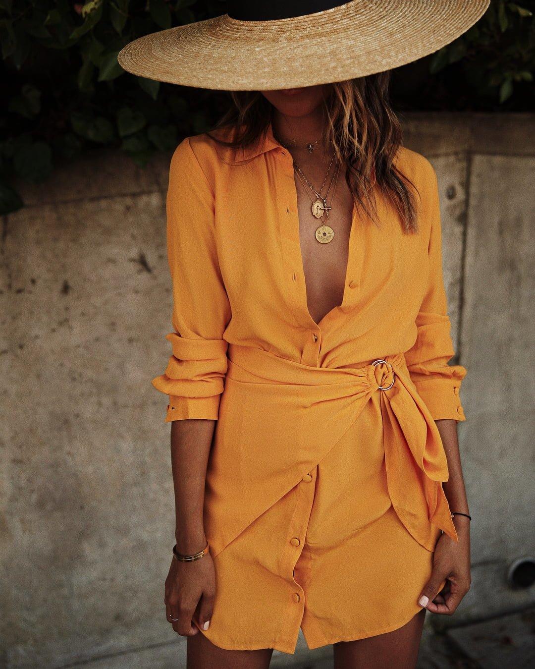 Predivne proljetne haljine u svim nijansama žute