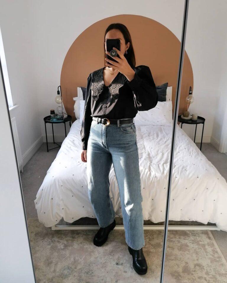 Sestrinski brend H&M-a ima pregršt bluza, košulja i kardigana s predimenzioniranom kragnom